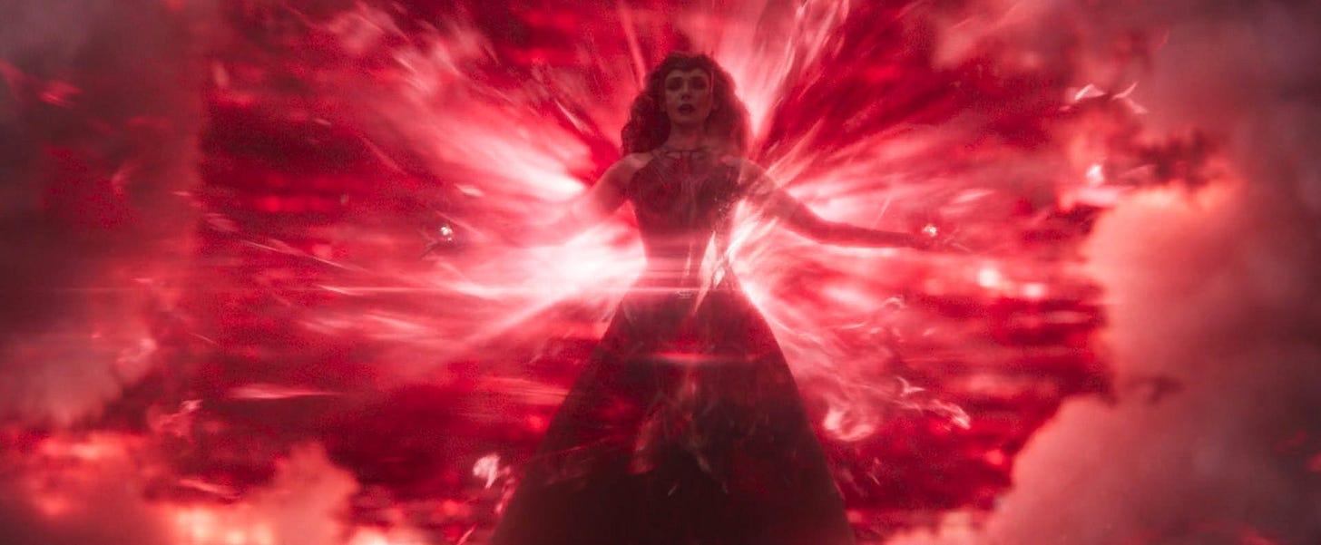 Wanda unleashing her full powers