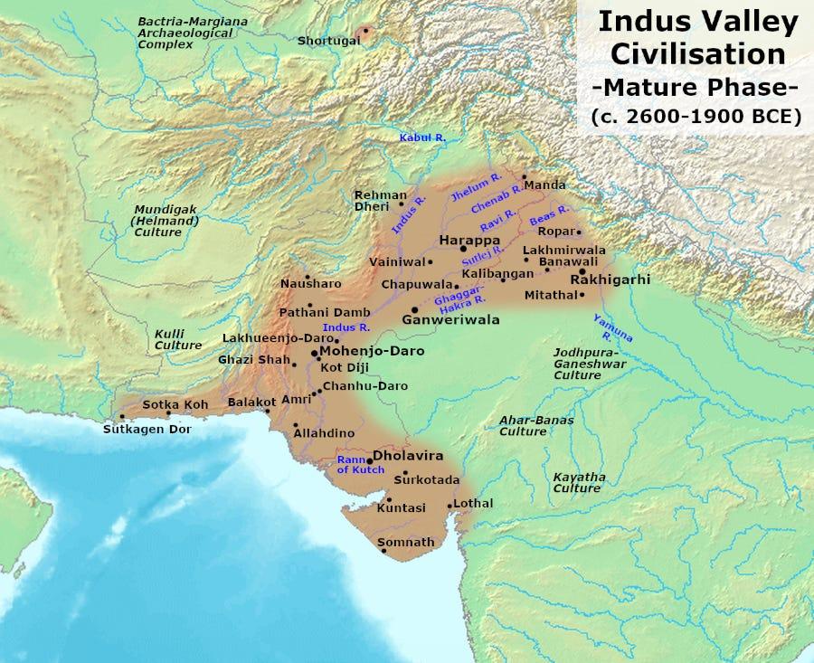 Indus Valley Civilisation - Wikipedia