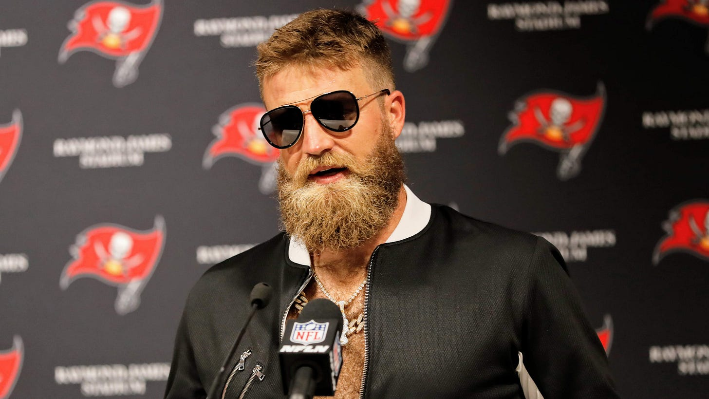 2019 NFL playoffs: That time when Ryan Fitzpatrick was a god and the  Buccaneers ruled the world