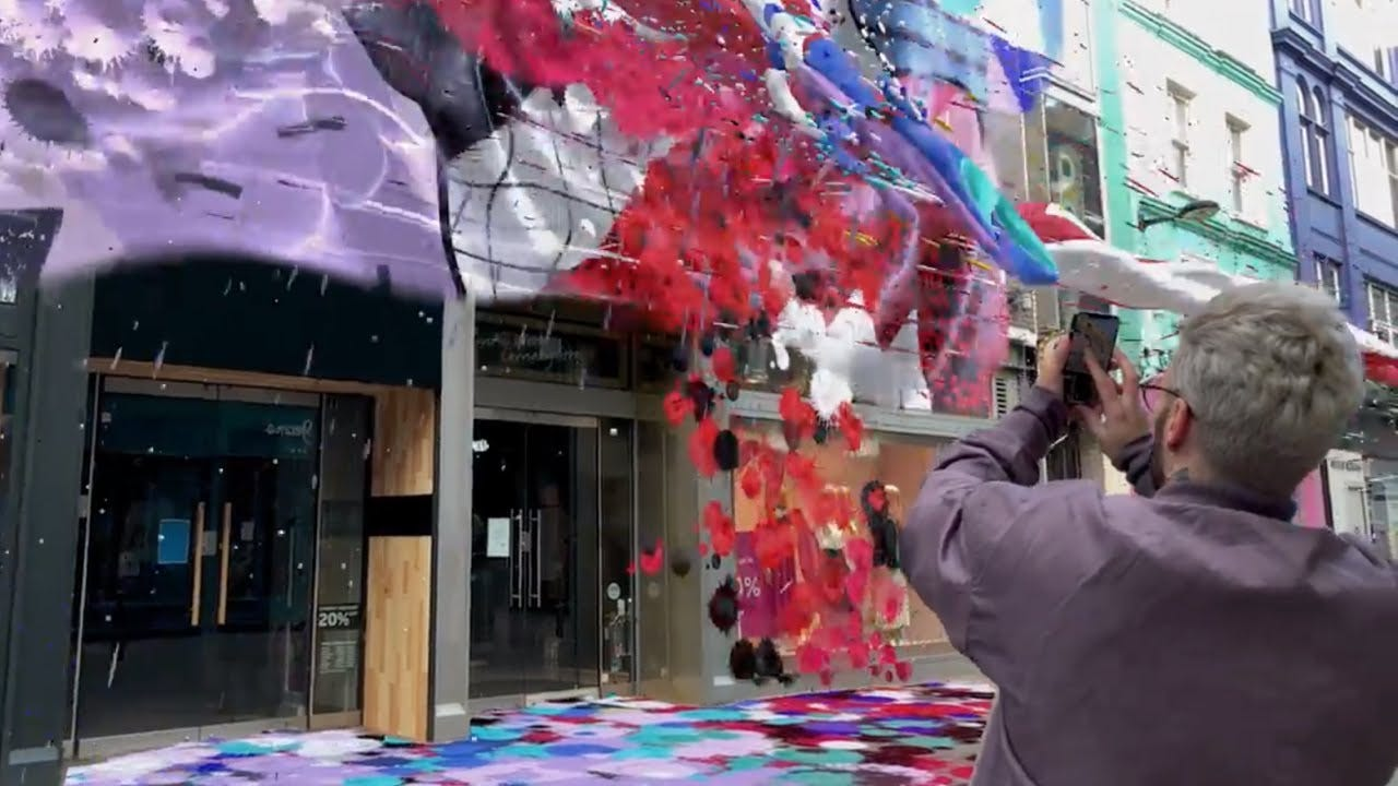 Snapchat Launches Its First Local Lens On Carnaby Street