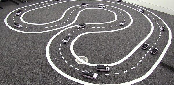 Speeding up traffic