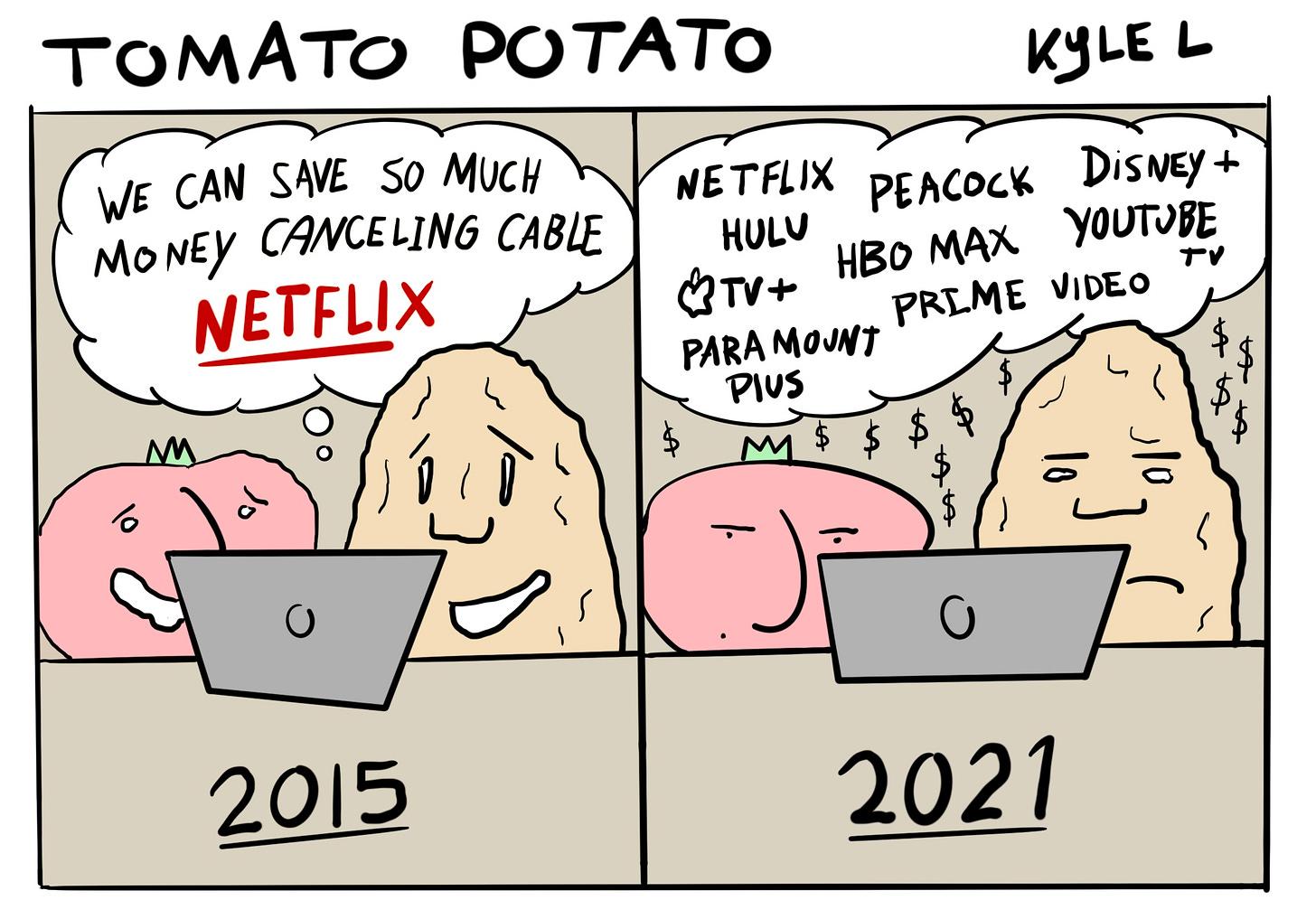 Tomato Potato web comic