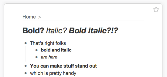 Bold and Italic Have Arrived In WorkFlowy – WorkFlowy