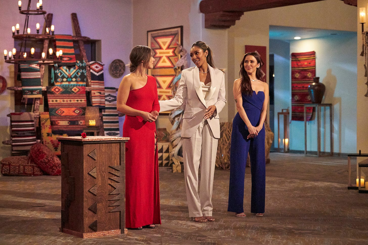 In the Bachelorette as in Jane Austen, stand by your sisters - Season 17 bachelorette Katie Thurston has Tayshia Adams and Kaitlyn Bristowe, just like Elizabeth Bennet had sister Jane.