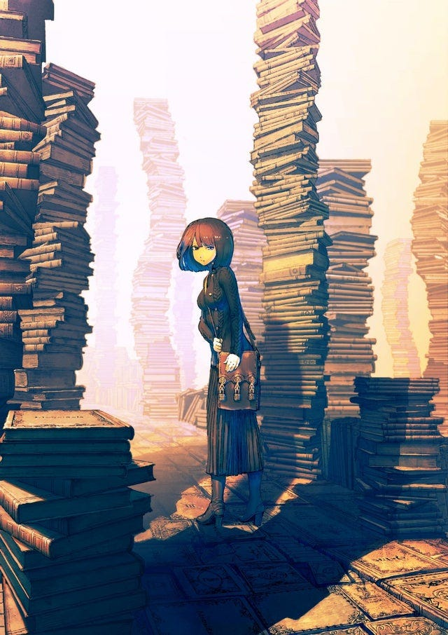 r/Art - Book Forest, リアス, Digital, 2016