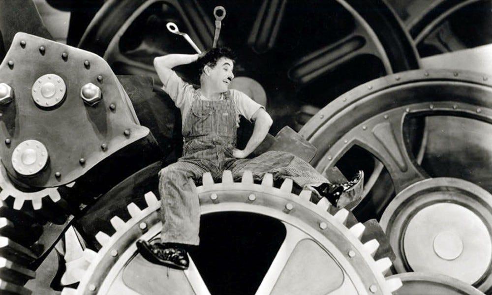 Tempi moderni di Chaplin: la trama e il significato del film - laCOOLtura