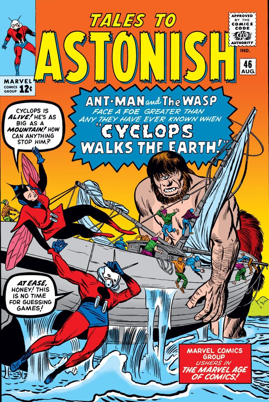 Tales to Astonish Vol 1 46   Marvel Database   Fandom