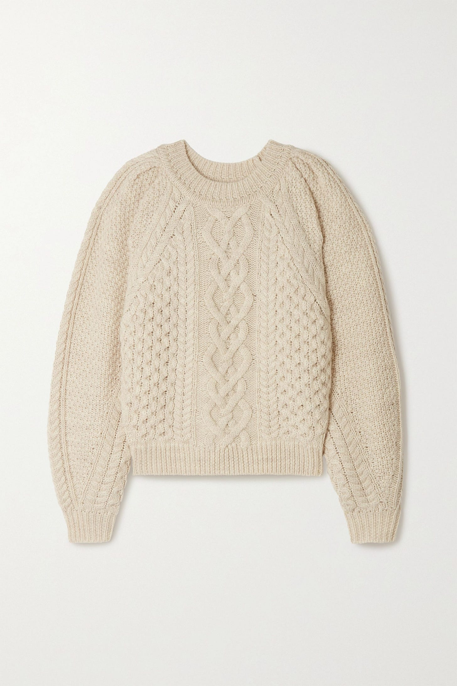 Isabel Marant Étoile Romy cable-knit wool sweater