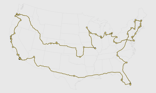 Brewery Road Trip, Optimized With Genetic Algorithm