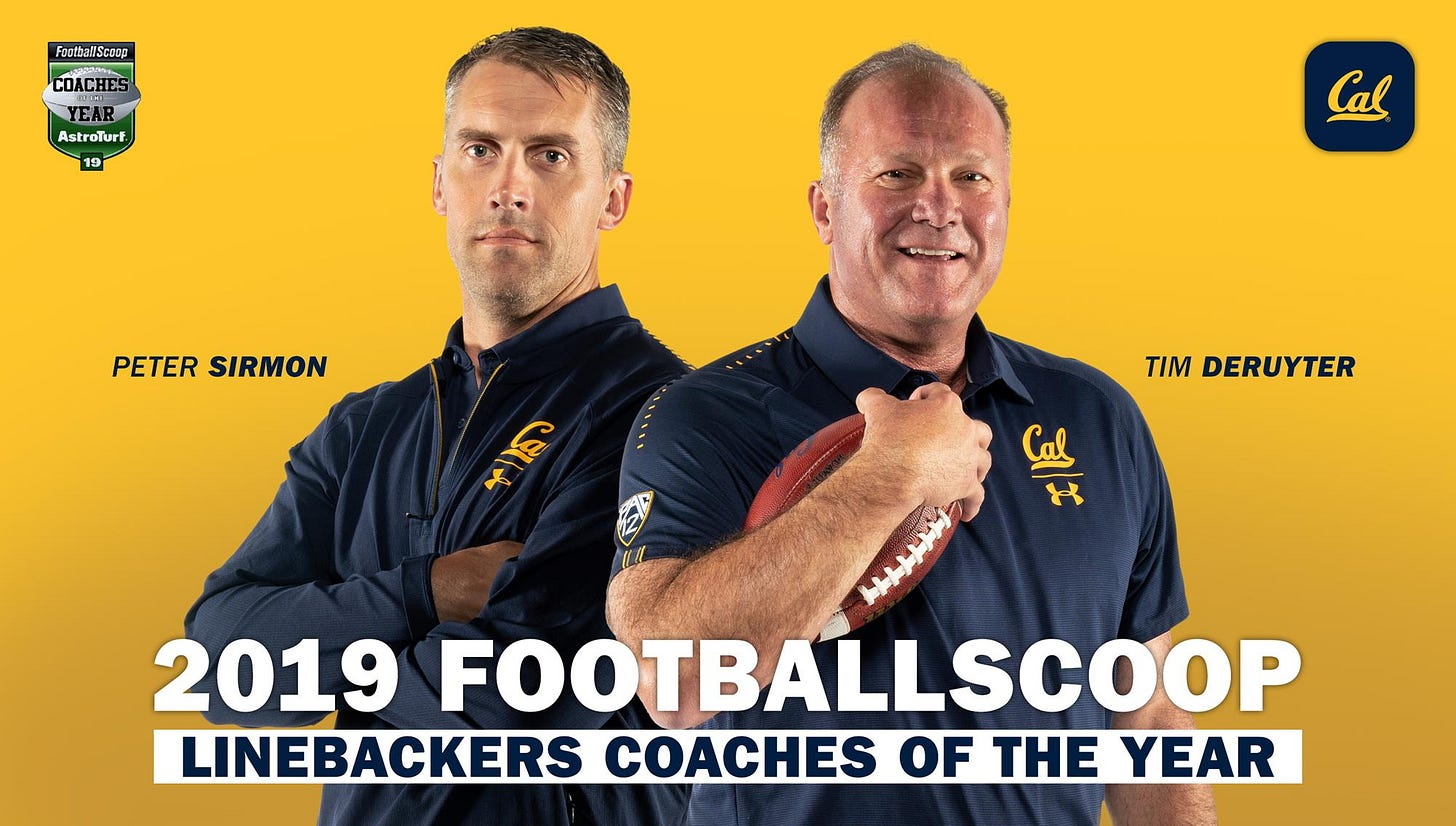 FootballScoop Honors DeRuyter And Sirmon