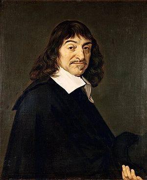"""Portrait of René Descartes, dubbed the """"F..."""
