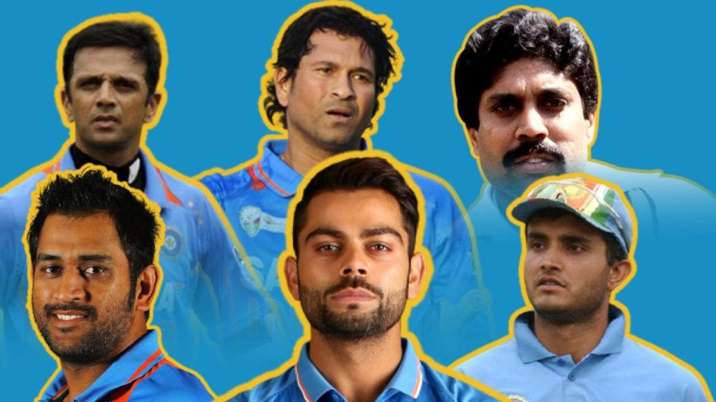 Indian Cricket Under Different Captains