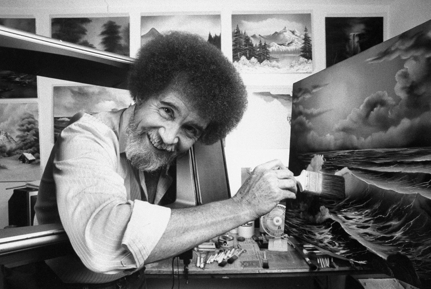 In Search of Sleep, with Bob Ross | The New Yorker