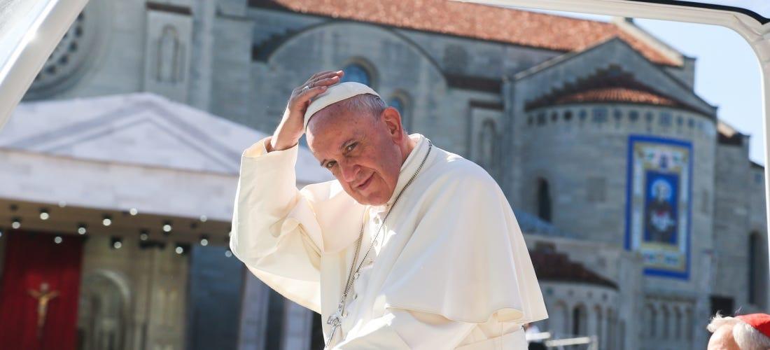 Pope Francis at CUA