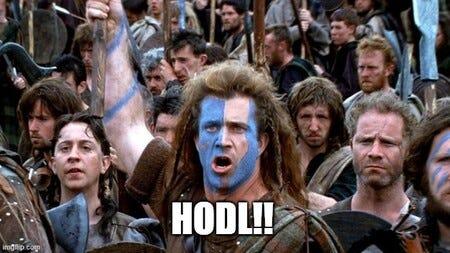 """HODL"""" o cómo una falta de ortografía acabó siendo uno de los lemas (y memes)  más populares del mundo de las criptomonedas"""