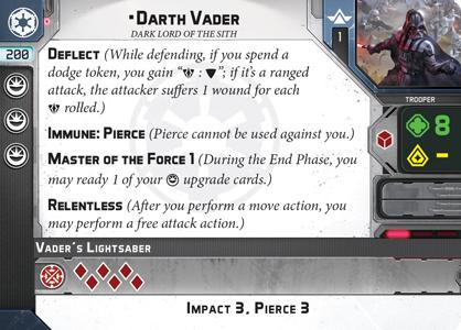 Commander Darth Vader in Star Wars Legion