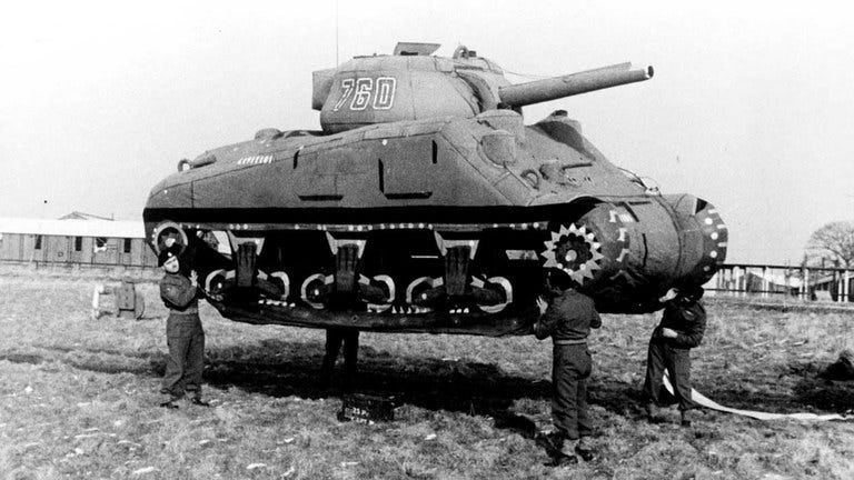 The Ghost Army was a United States Army tactical deception unit during World War II officially known as the 23rd Headquarters Special Troops. The 1100-man unit was given a unique mission within the Allied Army: to impersonate other Allied Army units to deceive the enemy.