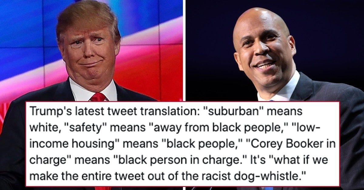 "Trump Accused Of Racism For ""Suburban Housewife"" Tweet"