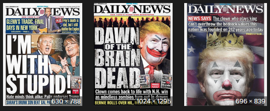 Daily News Covers