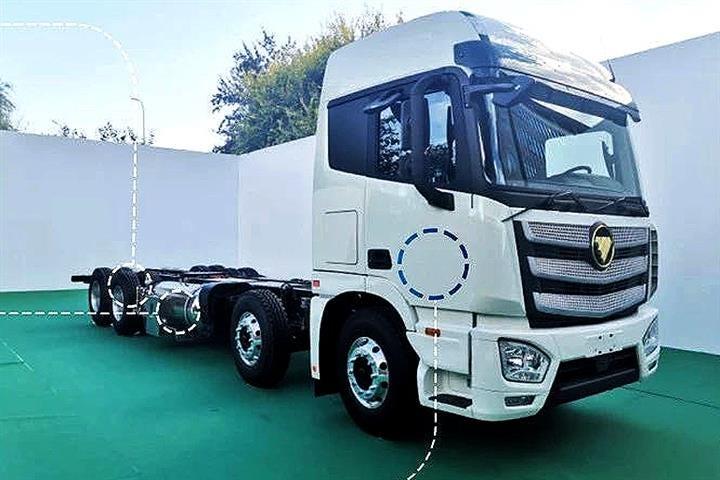 Beiqi Foton Motor Rolls Out World's First Liquid Hydrogen Truck Rig