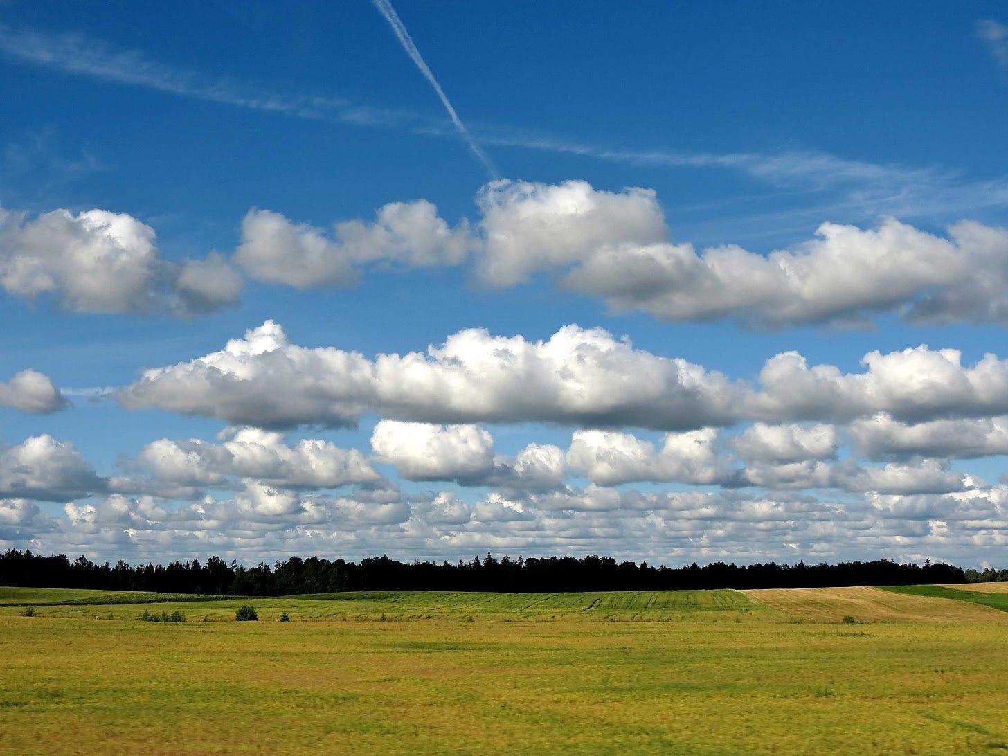 Cumulus radiatus (Cu ra) | International Cloud Atlas