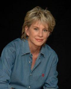 Photo of Patricia Cornwell.