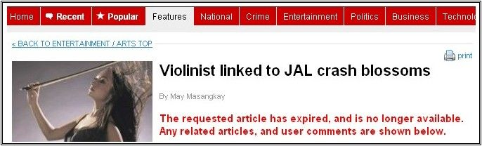 The Orignal Crash Blossom Headline