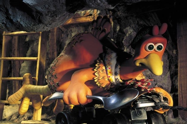 Aardman Animation's Chicken Run (2000)
