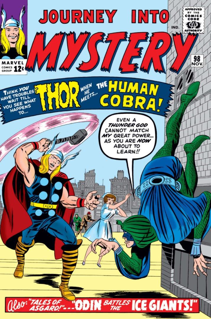 Journey into Mystery Vol 1 98 | Marvel Database | Fandom