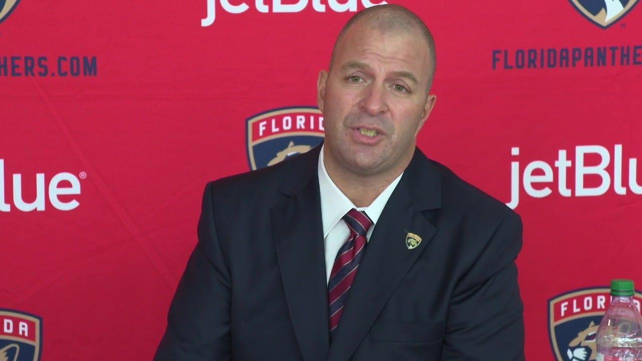 Introducing new Florida Panthers GM Bill Zito | FOX Sports