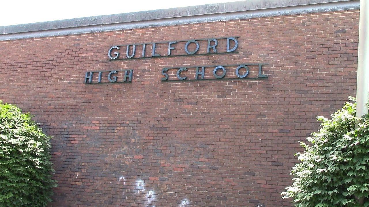 Walking Through Guilford High School - YouTube