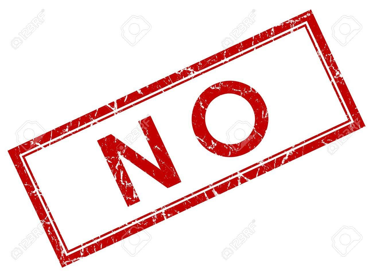 No Red Square Stamp Stock Photo, Picture And Royalty Free Image. Image  21555719.