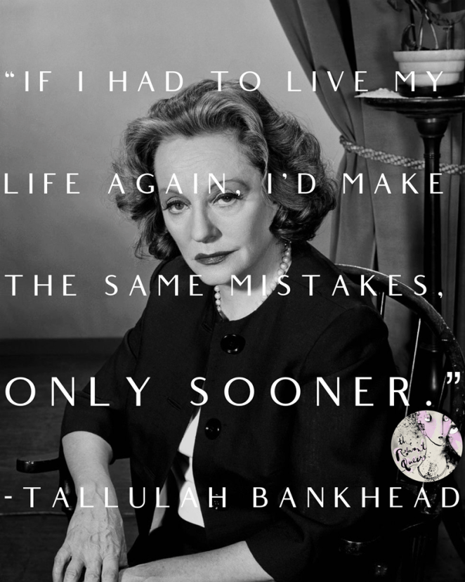 THE RELEVANT QUEER: Tallulah Bankhead, Unrepentant Star of Stage and  Screen, Born January 31, 1902 | Image Amplified