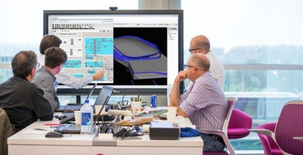 A Design Charrette with a Computational Design Team