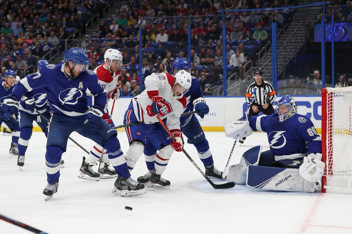 Canadiens @ Lightning Game 1: Game thread, lines, and how to watch - Eyes  On The Prize