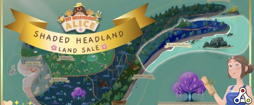 my neighbor alice land sale