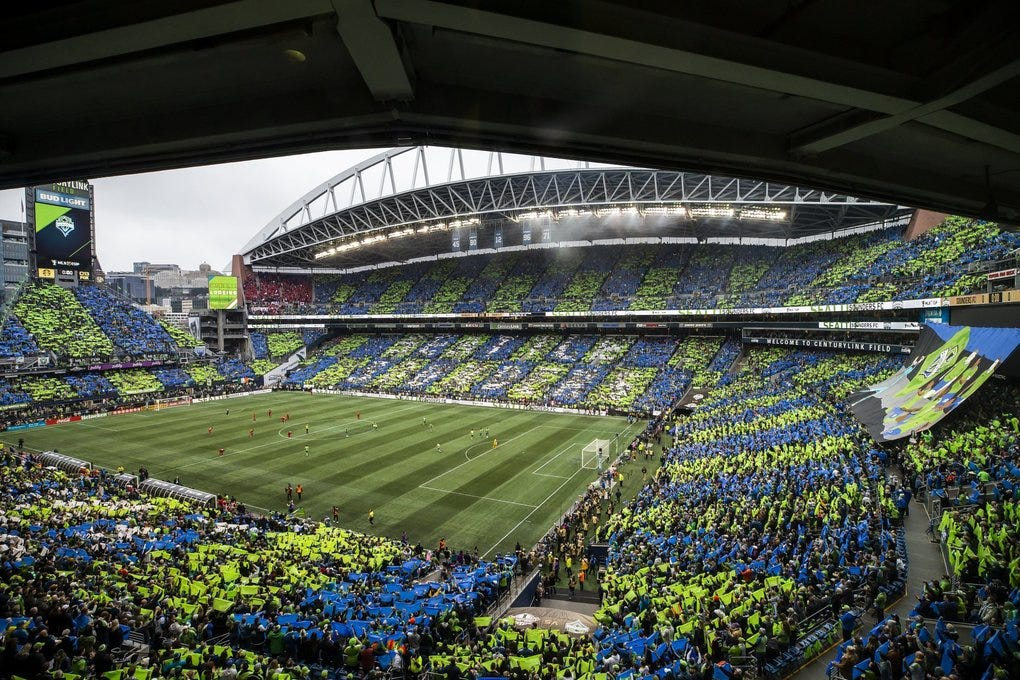 Unbelievable': Sounders fans packing Pioneer Square, CenturyLink Field  elated with MLS Cup win | The Seattle Times