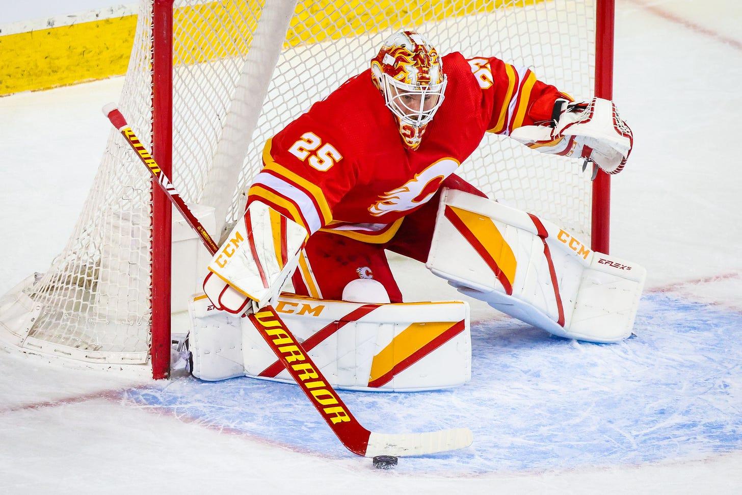 Flames 3, Canucks 0: Jacob Markstrom blanks his former club – Flamesnation