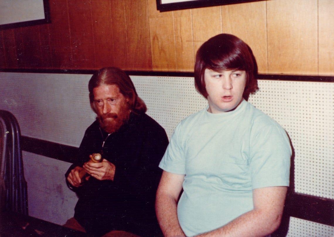 eden ahbez and Brian Wilson, 1967