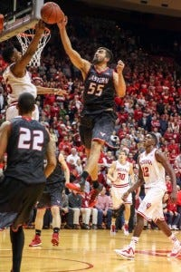 Venky Jois helped lead the Eagles to an upset against Indiana - Credit Joe Eke via Eastern Washington Athletics