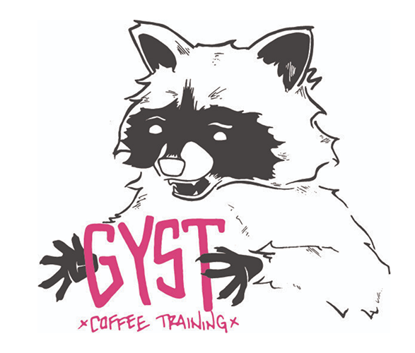 GYST Coffee Training—the logo.  Find out more in the Q&A .