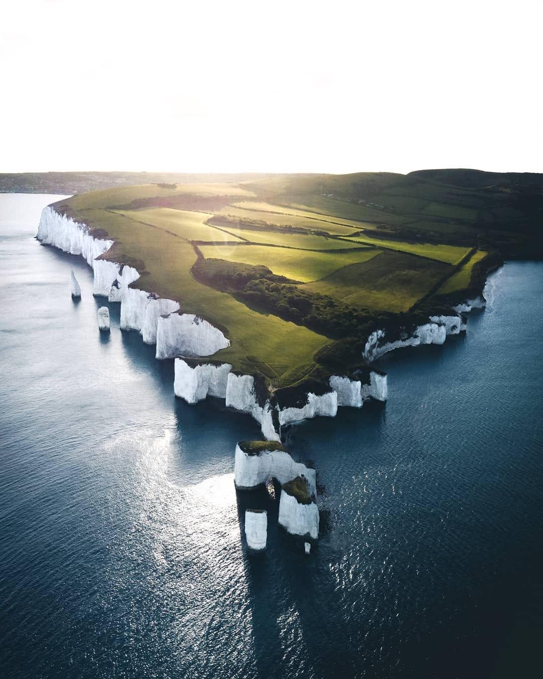White cliffs of england