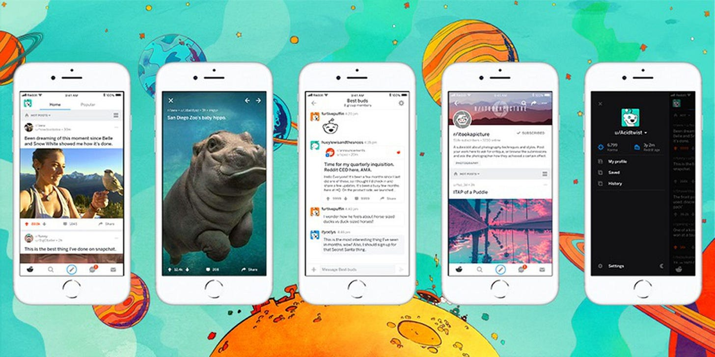Official Reddit App for iOS Gains Chat Function, Live Comments, Theater  Mode and More - MacRumors