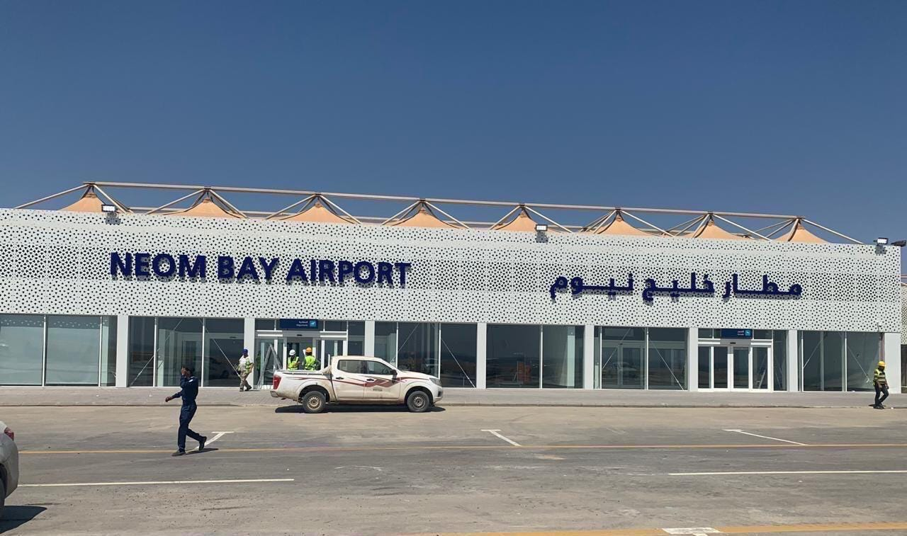 PICTURES: This is what Saudi Arabia's Neom Bay Airport looks like -  Projects And Tenders - Construction Week Online