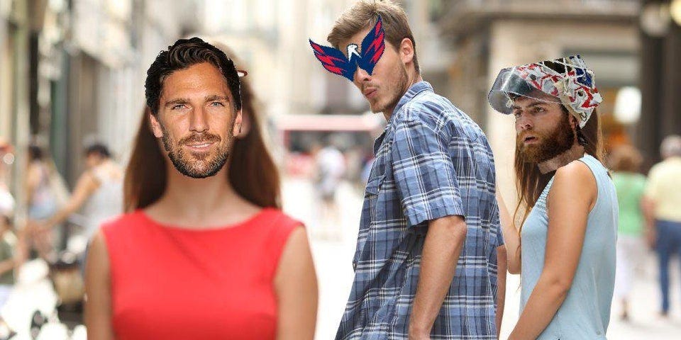 r/hockeymemes - Capitals fans be like