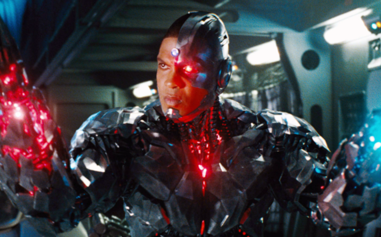 "Ray Fisher as Cyborg in ""Justice League"""