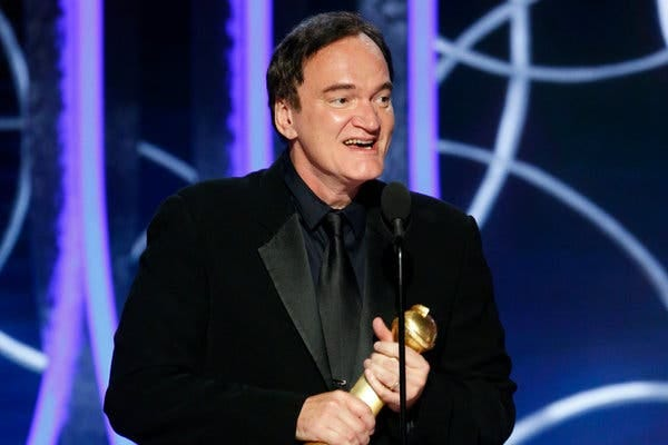 """Quentin Tarantino's """"Once Upon a Time … in Hollywood"""" won three Golden Globes."""