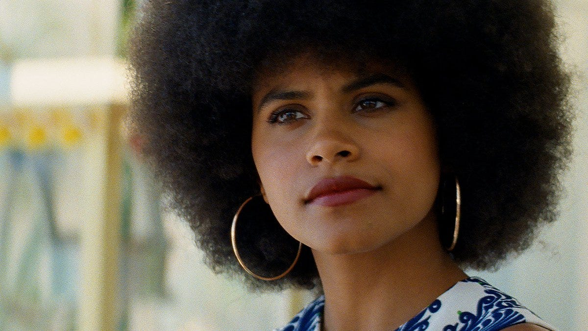 """Prime Video on Twitter: """"Zazie Beetz plays Dorothy Jamal in Seberg, an  activist who also ran the School of Afroamerican Culture. She's  introspective in the role as she learns that even when"""