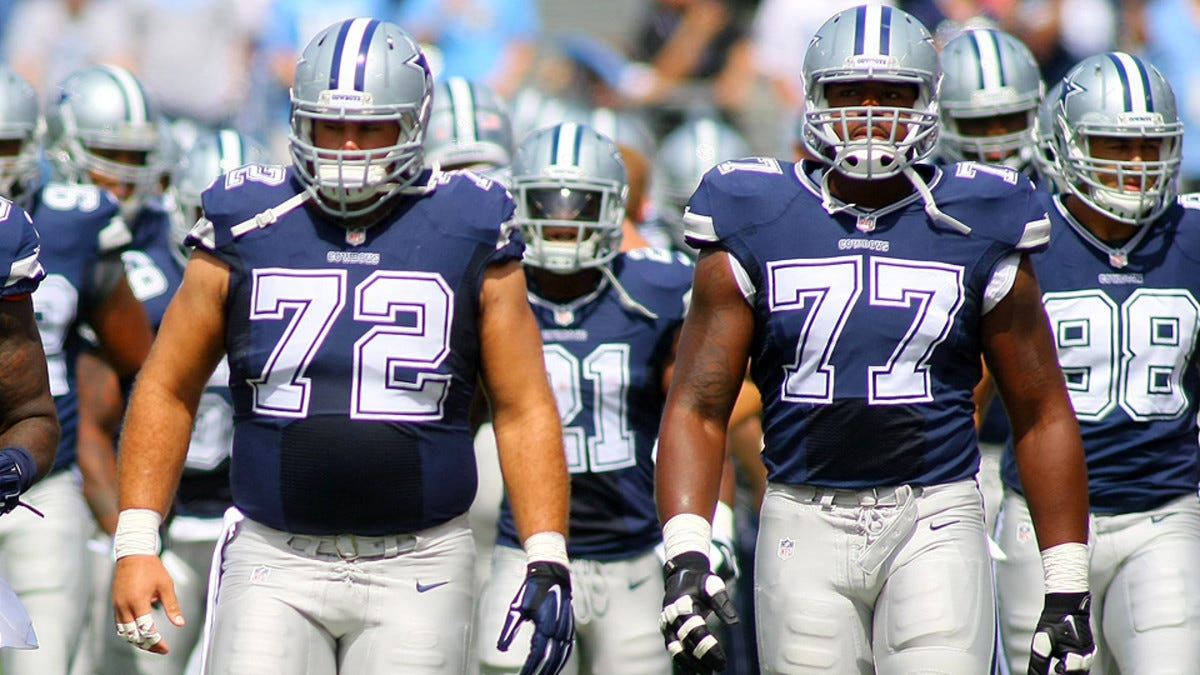 Cowboys, Ravens lead the NFL's top offensive lines - Sports Illustrated