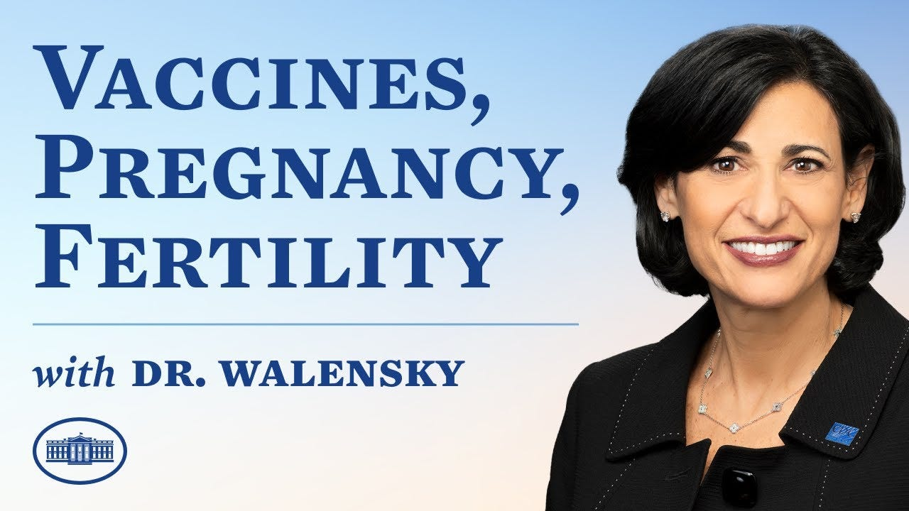 Dr. Walensky On The COVID-19 Vaccine, Pregnancy, And Fertility - YouTube